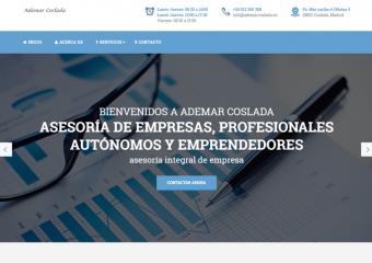 Ademar Coslada renueva su web